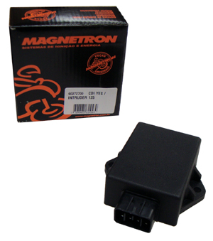 5729cf121e2 CDI Intruder-125 Yes-125 Magnetron - Moto Moura