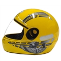Capacete Fly F7 2010 (Amarelo)